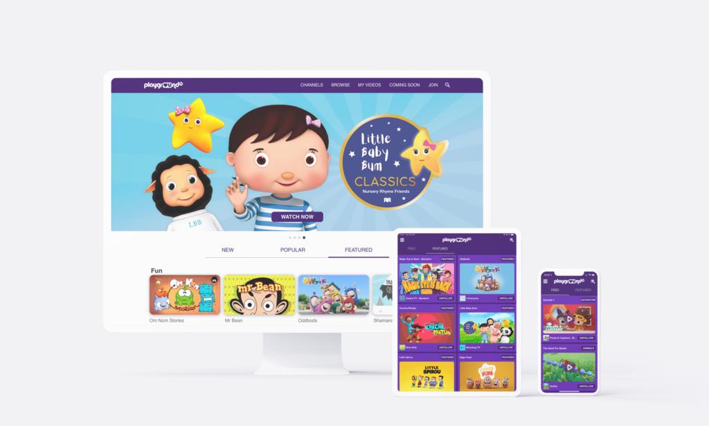 Playground TV apps