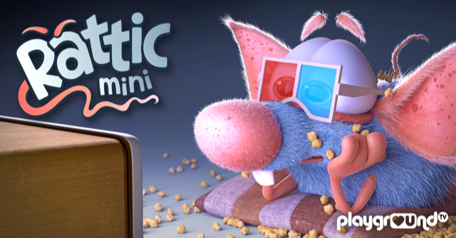 Watch Rattic, the curious, playful and adorable rat available to stream for kids of all ages in the UK, Germany, Italy and Spain.